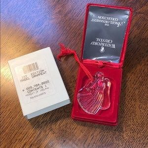 Waterford Crystal 1st Edition Angel Ornament